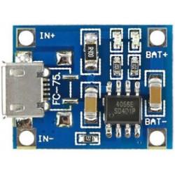 Модуль TP4056 зарядное устройство