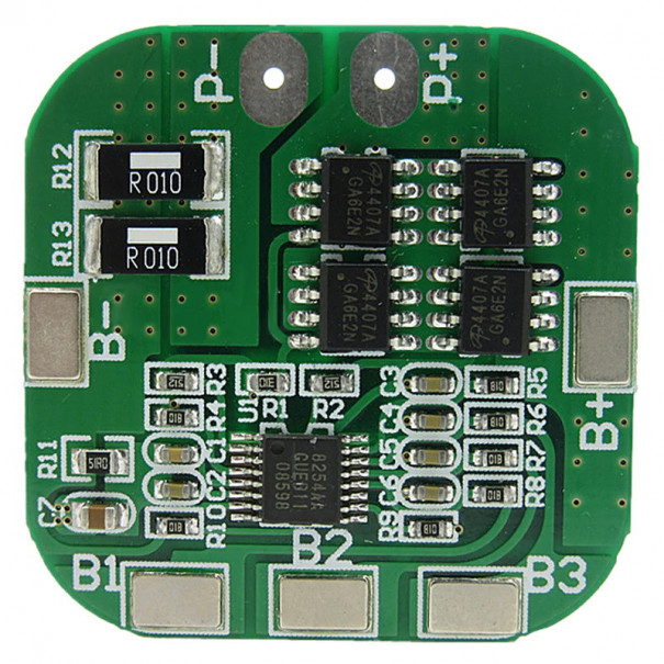 Контроллер заряда разряда BMS 4S Li-Ion HX-4S-A20 REV1.1