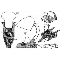 Схема настольного светильника