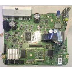 Плата из магнитолы MTXT900XM с установленным радиатором