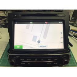 MTXT900XM запущена программа Навител