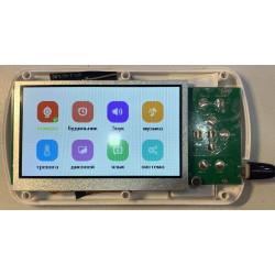 Тачскрин Prestigio MultiPad Wize 3618 PMT3618 4GE C